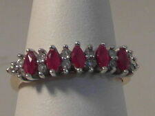 Marquise Ruby Band Fine Rings