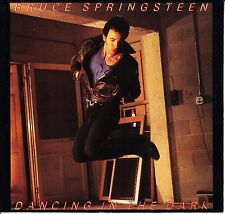 """BRUCE SPRINGSTEEN Dancing In The Dark & Pink Cadillac 7"""" 45 rpm vinyl record"""