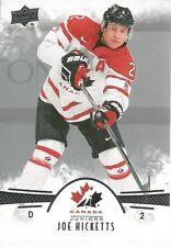 Joe Hicketts #31 - 2016 Team Canada Juniors - Base Men