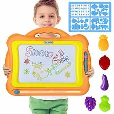 Magnetic Drawing Board - Magna Doodle Scribble Board Erasable Colorful