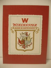 Rare Large Winchester advertisement Stamp