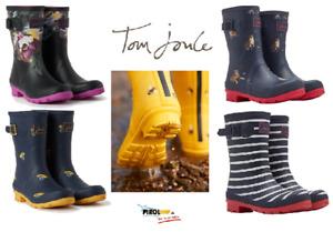 Tom Joules MOLLYWELLY mittelhohe Damen Gummistiefel Regenstiefel mit Muster