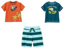 Gymboree Jungle Explorer Helicopter Toucan Tee Shirt Shorts Set Boys 3T NEW NWT