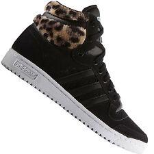 adidas Top Ten Hi W SCHUHE schwarz