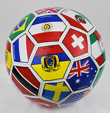 International Country Flags Soccer Ball Fifa World Cup Size 5 Western Star
