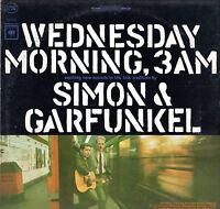 Simon & Garfunkel LP Columbia 1965, 360 Sound, CS-9049,Wednesday Morning 3am~VG+