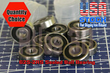 625 2rs Rubber Sealed Deep Groove Ball Bearings 5x16x5 Mm