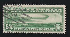 US C13 65c Graf Zeppelin Airmail Used VF SCV $150