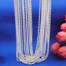 pearl Charm Pendant Necklace wholesale 5p 925 Silver Chain