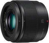 Panasonic Lumix G 25mm F1.7 Asph. Prime lens - Mint condition boxed