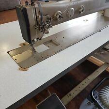 "Pfaff 1245 Single Needle Walking Foot 34"" Long Arm Industrial Sewing Machine"
