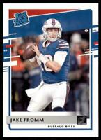 2020 Donruss Rated Rookies #305 Jake Fromm - Buffalo Bills