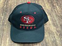 VTG San Francisco 49ers Men's Black Snapback NFL Football Hat - OSFA