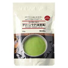 Muji Japan Instant Matcha Green Tea Latte Powder Drink 105g (Made in Japan)