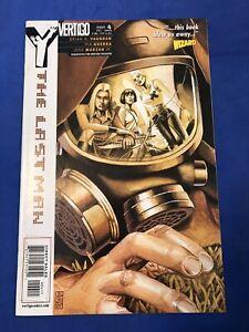 Y The Last Man #4 DC/Vertigo 2002 NM - Brian K. Vaughan