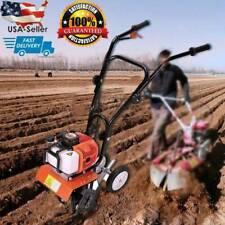 6500rpm 52cc Mini Soil Gas Tiller Cultivator Farm Plant Yard Garden Tilling Tool