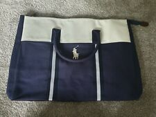 Polo Ralph Lauren Weekender Sports/Gym/Travel Holdall Bag Navy Cream