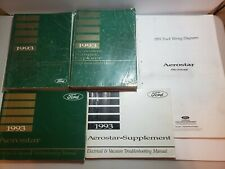 1993 Ford Aerostar Explorer Ranger Service Repair Manuals - Lot of 5