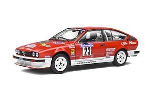 ALFA ROMEO GTV6 road car Rothman rally 1984 1:18 SOLIDO 1802301 1802302 3 4 or 6