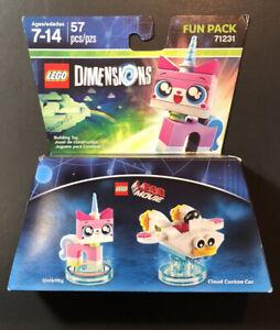 Lego Dimensions Fun Pack 71231 [ Lego Movie / Unikitty / Cloud Cuckoo Car ] NEW