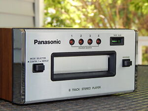 Panasonic RS-807 RS-808 8 Track Tape Player - PRO TECH SERVICED - VIDEO DEMO!