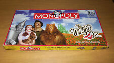 HASBRO 2008 Monopoly The Wizard of Oz Collector's Edition Board Game ~ COMPLETE!