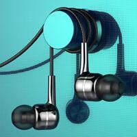 Headset 3,5 mm In-Ear-Kopfhörer Stereo-Ohrhörer Kopfhörer Kabelmikrof 2020