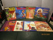 8 Laserdisc Disney Movies