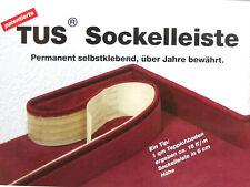 Sockelleiste permanent selbstklebend 6cm Höhe a. Ihren eigenen Teppichbodenreste