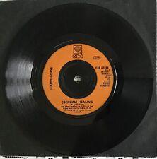"MARVIN GAYE,SEXUAL(HEALING),VINTAGE 1982 7"" 45rpm,VINYL RECORD,EX,EX"