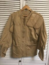 Vintage 10X Imperial Reeves Army Twill Sanforized Padded Shooting Jacket Left 38