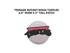 Teenage Mutant Ninja Turtles Cartoon Embroidered Iron on Patch