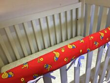 Reversible Baby Cot Crib Teething Rail Cover Protector ~ Winnie the Pooh