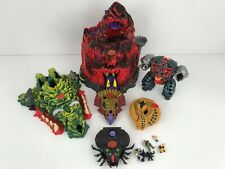 HUGE Lot of Mighty Max Play Sets Skull Mountain Vtg 90's Bluebird Toys BBT