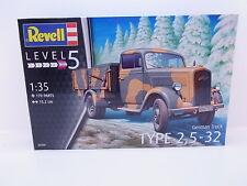 47345 |  Sonderpreis: Revell 03250 German Truck Type 2,5-32 Bausatz 1:35 NEU OVP