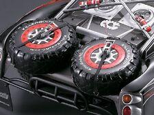 Killerbody Ersatzreifen-Set aus Lexan klar 1:10 Short Course Truck KB48038