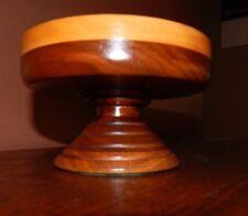 Handmade, Wood Lathe Turned.  Antique Walnut Bowl, Completely Refinished.
