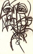 NEO EXPRESSIONISM ART ORIGINAL DRAWING PAPER GALLERY SKETCH MODERNISM DECOR IDEA