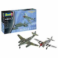 Revell 03711 Combat Set Me262 & P-51B 1:72 Model Kit