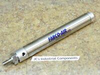 "Fabco Air  1-1/4""  bore  X  7""  stroke    pneumatic cylinder  25-D-7"