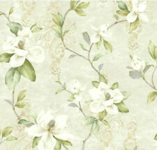 York Wallcoverings Charlotte Magnolia Trail Unpasted Wallpaper Tb4201
