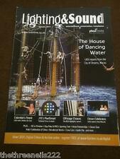 LIGHTING & SOUND INT - HOUSE OF DANCING WATER - JAN 2011