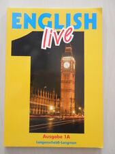 English Live Ausgabe A Band 1 für das 5. Schuljahr