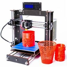 3D Drucker DIY Verbesserte MK8 LCD Pro B Precision Reprap Prusa i3 GIFTS NEW DE