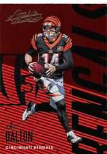 2018 Panini Absolute Football Base Singles (Pick Your Cards)