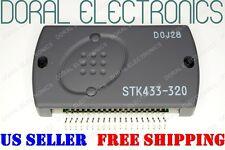 STK433-320 SANYO ORIGINAL HeatSinkComp Free Ship US SELLER Integrated Circuit IC