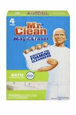 Mr. Clean Magic Eraser Foaming Bath Scrubber 4 Pads BRAND NEW