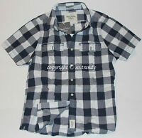 NWT ABERCROMBIE & Fitch Mens Vintage Classic Heritage Plaid Check Shirt Muscle L