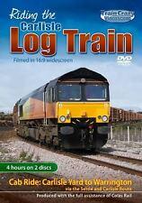 Riding the Carlisle Log Train  *DVD - Colas-owned Class 66/8s - 66848 *Cab Ride