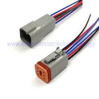 2pcs Universal Bypass Resistor Plug Harness for 12V Cars no Resistors